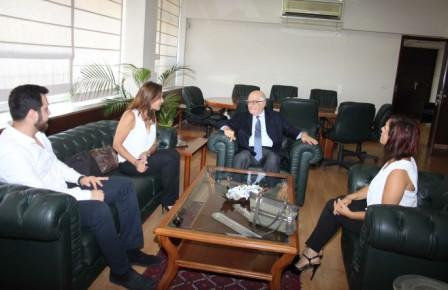 Minister-Ramzi-Jreij-meets-Mrs-Ayda-Joumaa-with-a-Delegation-[1]