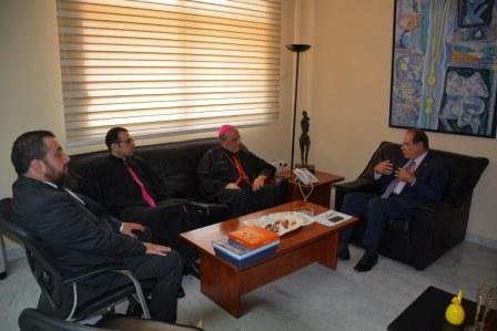 Minister-Sejaan-Azzi-Meets-Bishop-Georges-Kasarji[1]